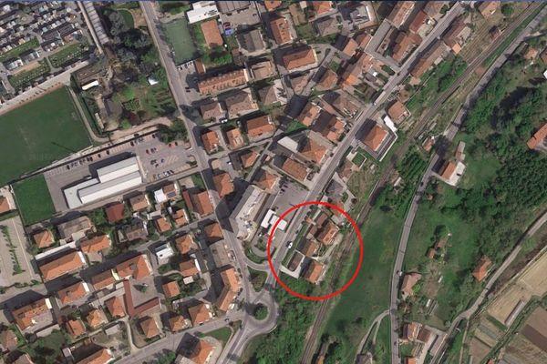 Immagine n0 - Planimetria - Vista aerea - Asta 5631