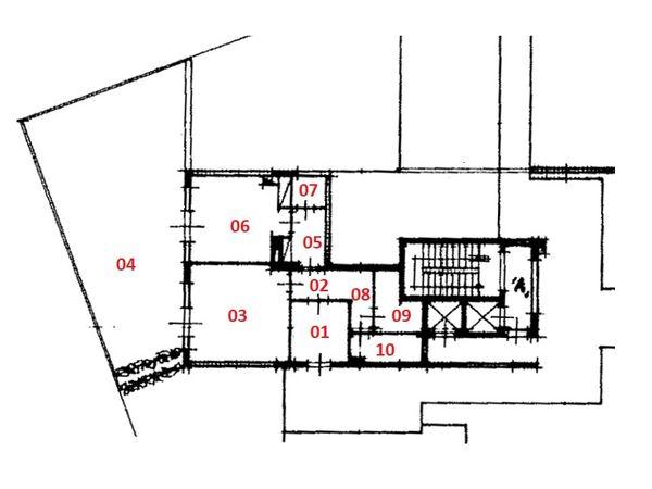 Immagine n0 - Planimetry - First floor - Asta 5644