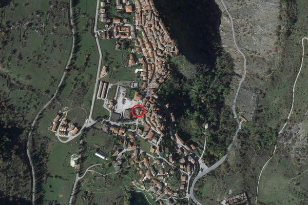 Immagine n0 - Planimetria - Vista aerea - Asta 5688