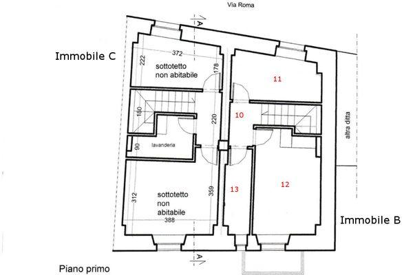 Immagine n0 - Planimetria - Primer piso - Asta 5688