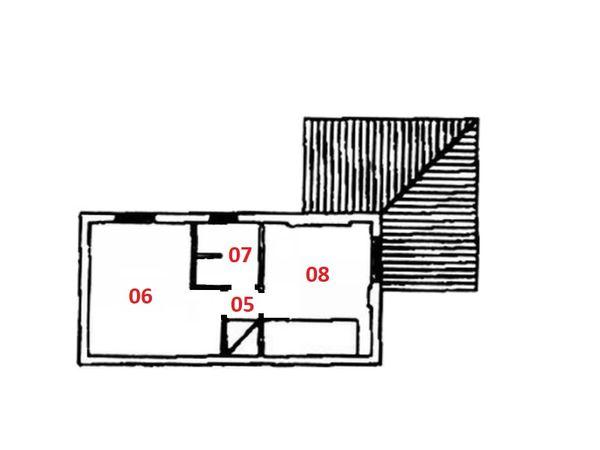 Immagine n2 - Planimetria - Piano primo - Asta 5750