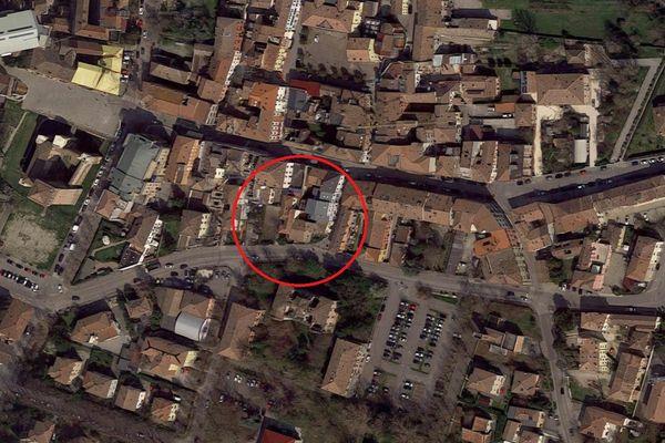 Immagine n0 - Planimetria - Vista aerea - Asta 5781