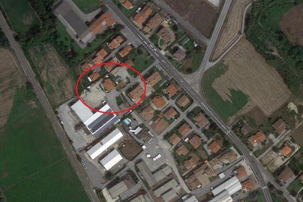 Immagine n0 - Planimetria - Vista aerea - Asta 5850