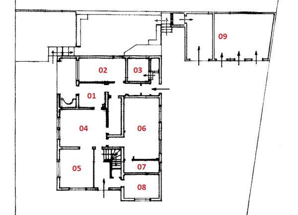 Immagine n8 - Planimetria - Piano terra - Asta 586
