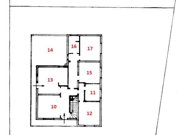 Immagine n7 - Planimetria - Piano primo - Asta 586
