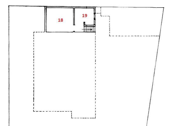 Immagine n1 - Planimetria - Piano seminterrato - Asta 586