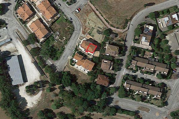 Immagine n1 - Planimetria - Vista aerea - Asta 5910