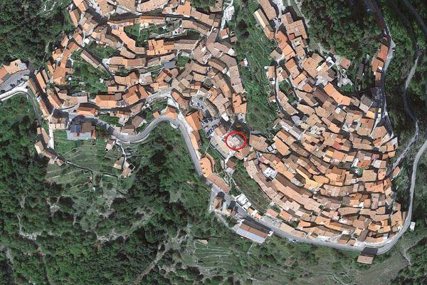 Immagine n0 - Planimetria - Vista aerea - Asta 5930