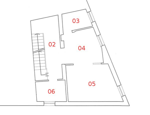 Immagine n4 - Planimetria - Piano primo - Asta 596