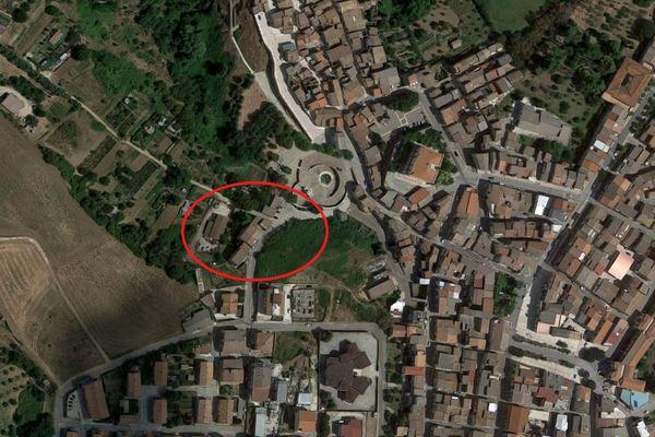 Immagine n0 - Planimetria - Vista aerea - Asta 5973