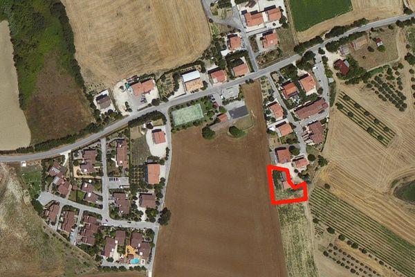 Immagine n0 - Planimetria - Vista aerea - Asta 598
