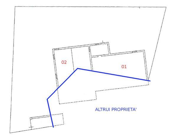 Immagine n1 - Planimetria - Piano terra - Asta 598