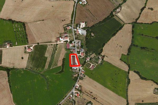 Immagine n0 - Planimetria - Vista aerea - Asta 599