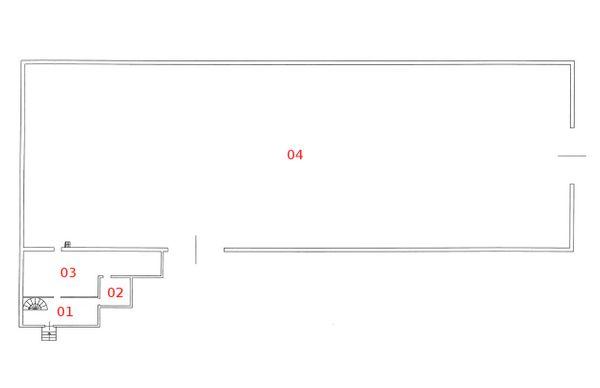 Immagine n3 - Planimetria - Piano terra - Asta 599
