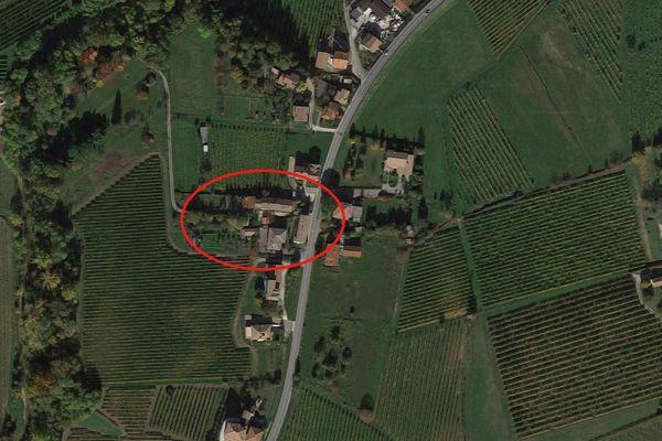 Immagine n0 - Planimetria - Vista aerea - Asta 6010