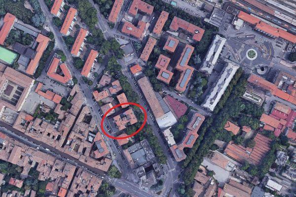 Immagine n1 - Planimetria - Vista aerea - Asta 6111