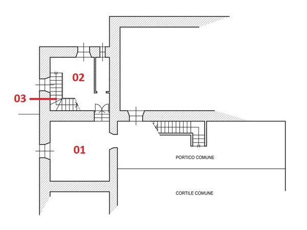 Immagine n1 - Planimetria - Piano terra - Asta 6113