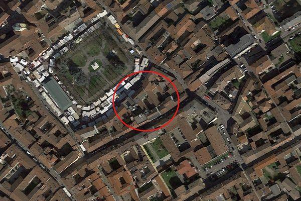 Immagine n0 - Planimetria - Vista aerea - Asta 6151