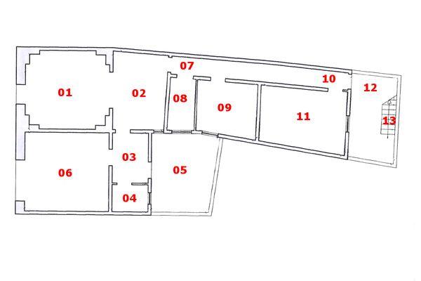 Immagine n0 - Planimetry - Ground floor - Asta 6247