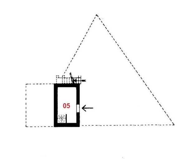 Immagine n0 - Planimetria - Piano seminterrato - Asta 625