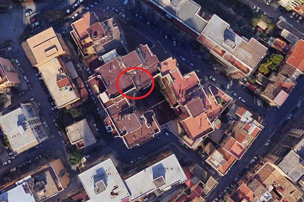 Immagine n0 - Planimetria - Vista aerea - Asta 6291