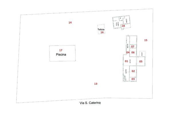 Immagine n0 - Planimetria - Piano terra - Asta 6296