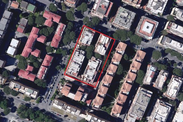 Immagine n0 - Planimetria - Vista aerea - Asta 6309