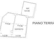 Immagine n8 - Casa indipendente, magazzino e unità collabenti - Asta 631