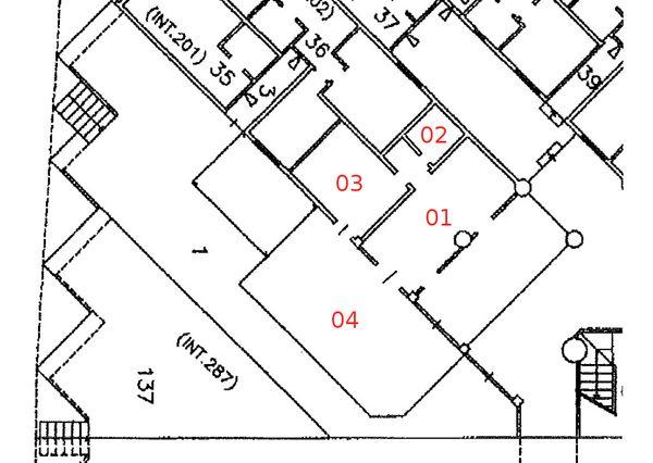 Immagine n3 - Planimetria - Piano terra - Asta 633