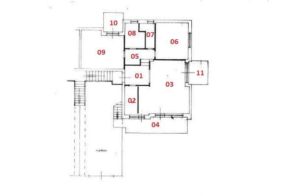 Immagine n0 - Planimetria - Piano primo - Asta 6336