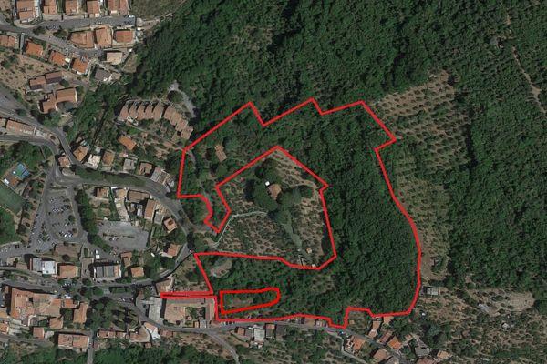 Immagine n1 - Planimetria - Vista aerea - Asta 6338