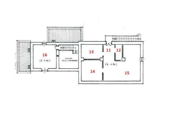 Immagine n0 - Planimetria - Piano primo - Asta 6338
