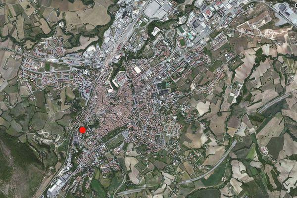 Immagine n0 - Planimetria - Vista aerea - Asta 636