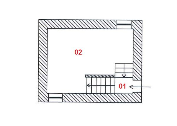 Immagine n1 - Planimetry - Ground floor - Asta 6361