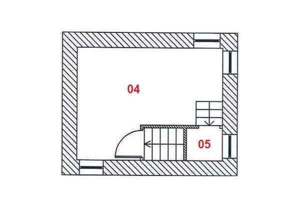 Immagine n1 - Planimetry - First floor - Asta 6361