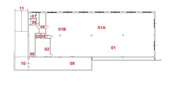 Immagine n0 - Planimetria - Piano Terra - Asta 6366