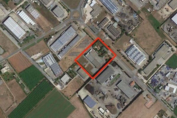 Immagine n0 - Planimetria - Vista aerea - Asta 6372
