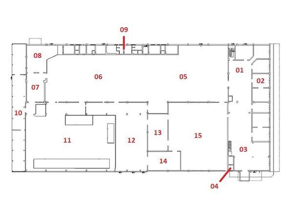Immagine n0 - Planimetria - Piano terra - Asta 6372