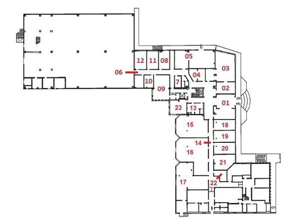 Immagine n0 - Planimetry - Ground floor - Asta 6374
