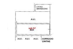 Garage al piano interrato (sub 57) - Lotto 6391 (Asta 6391)