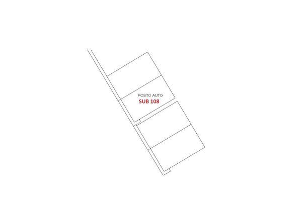 Immagine n1 - Planimetria - Piano seminterrato - Asta 6405