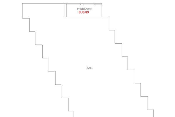 Immagine n1 - Planimetria - Piano seminterrato - Asta 6410