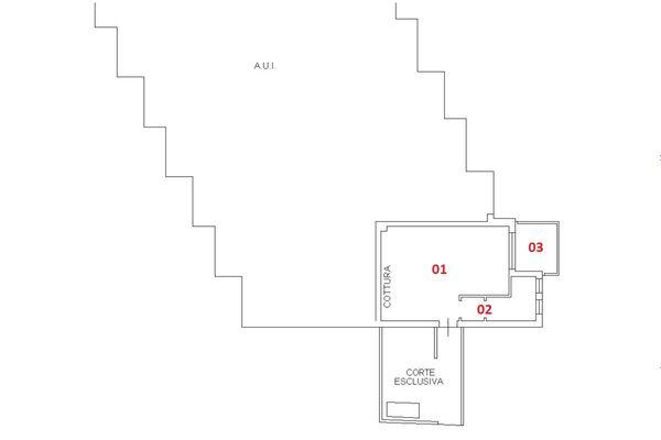 Immagine n1 - Planimetria - Piano terra - Asta 6419