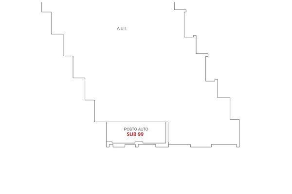 Immagine n1 - Planimetria - Piano seminterrato - Asta 6419