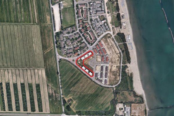 Immagine n3 - Planimetria - Vista aerea - Asta 6433