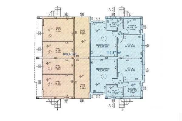 Immagine n1 - Planimetria - Piano terra - Asta 6433