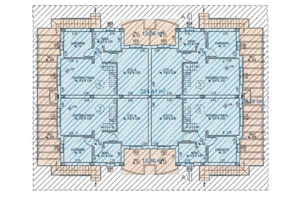 Immagine n2 - Planimetria - Piano primo - Asta 6433