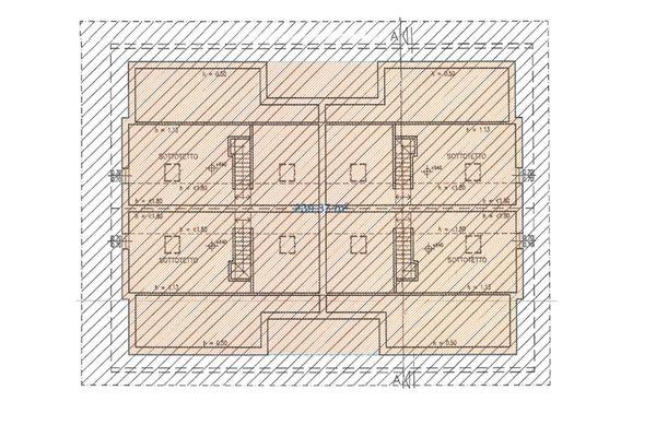 Immagine n3 - Planimetria - Piano sottotetto - Asta 6433