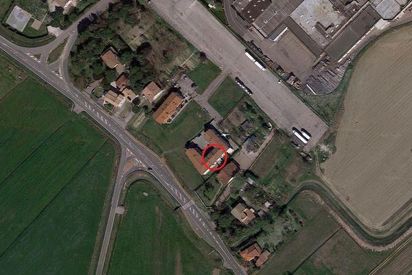 Immagine n0 - Planimetria - Vista aerea - Asta 6435
