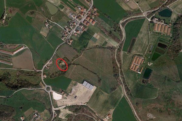 Immagine n1 - Planimetria - Vista aerea - Asta 6436
